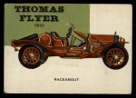1954 Topps World on Wheels #65   Thomas Flyer Speedster 1910 Front Thumbnail