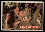 1956 Topps Davy Crockett #30 ORG  -    Arms of Steel  Front Thumbnail