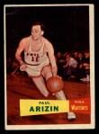 1957 Topps #10  Paul Arizin  Front Thumbnail