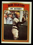 1972 Topps #40   -  Bob Barton In Action Front Thumbnail