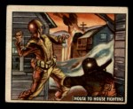 1950 Topps Freedoms War #167   House to House Fighting  Front Thumbnail