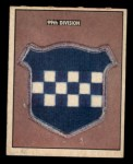 1950 Topps Freedoms War #182   99th Division  Front Thumbnail