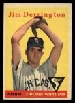 1958 Topps #129  Jim Derrington  Front Thumbnail
