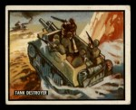 1950 Topps Freedoms War #60   Tank Destroyer   Front Thumbnail