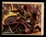 1950 Topps Freedoms War #134   Dangerous Spot  Front Thumbnail