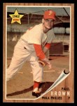 1962 Topps #181 GRN Paul Brown  Front Thumbnail