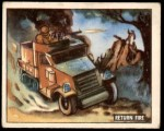 1950 Topps Freedoms War #154   Return Fire  Front Thumbnail