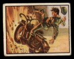 1950 Topps Freedoms War #43   Exploded Mine   Front Thumbnail