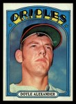 1972 Topps #579  Doyle Alexander  Front Thumbnail
