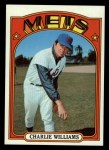 1972 Topps #388  Charlie Williams  Front Thumbnail