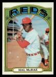 1972 Topps #291  Hal McRae  Front Thumbnail