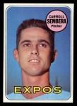 1969 Topps #351  Carroll Sembera  Front Thumbnail