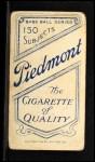 1909 T206  Elmer Flick  Back Thumbnail