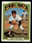 1972 Topps #503  Gary Peters  Front Thumbnail
