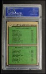 1979 Topps #6   -  J.R. Richard / Nolan Ryan Strikeout Leaders   Back Thumbnail