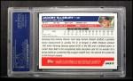 2005 Topps Update #317  Jacoby Ellsbury  Back Thumbnail