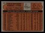1972 Topps #458  Aurelio Monteagudo  Back Thumbnail