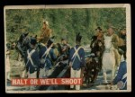 1956 Topps Davy Crockett #23 ORG  Halt or We'll Shoot  Front Thumbnail