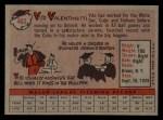1958 Topps #463  Vito Valentinetti  Back Thumbnail