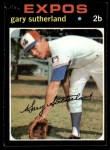 1971 Topps #434  Gary Sutherland  Front Thumbnail