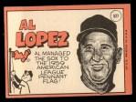 1969 Topps #527  Al Lopez  Back Thumbnail