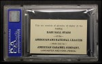 1921 E121-80 American Caramel  George Whitted  Back Thumbnail