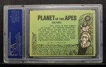 1969 Topps Planet of the Apes #37   Escape Back Thumbnail