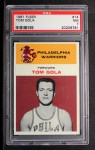 1961 Fleer #14  Tom Gola  Front Thumbnail