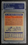 1972 Topps #144  Pat Riley   Back Thumbnail