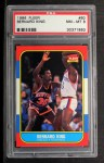 1986 Fleer #60  Bernard King  Front Thumbnail