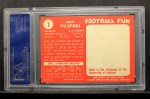 1958 Topps #1  Gene Filipski  Back Thumbnail