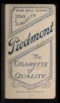 1909 T206 THR Lou Fiene  Back Thumbnail
