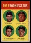 1963 Topps #54 III  -  Dave DeBusschere / Nelson Matthews / Harry Fanok / Jack Cullen  Rookies  Front Thumbnail