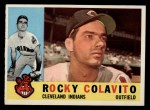 1960 Topps #400  Rocky Colavito  Front Thumbnail