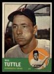 1963 Topps #127  Bill Tuttle  Front Thumbnail