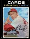 1971 Topps #322  Jim Beauchamp  Front Thumbnail