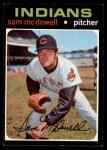1971 Topps #150  Sam McDowell  Front Thumbnail