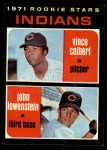1971 Topps #231   -  Vince Colbert / John Lowenstein Indians Rookies Front Thumbnail