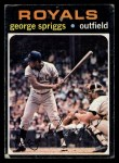 1971 Topps #411  George Spriggs  Front Thumbnail