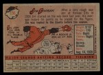1958 Topps #136  Jim Finigan  Back Thumbnail