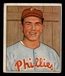 1950 Bowman #67  Willie Jones  Front Thumbnail