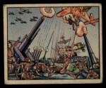 1938 Gum Inc. Horrors of War #35   Anti-aircraft Guns Blaze as Japs Bomb Power Plant Front Thumbnail