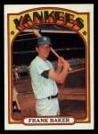 1972 Topps #409  Frank Baker  Front Thumbnail