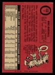 1969 O-Pee-Chee #17  Mike Marshall  Back Thumbnail