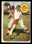 1969 O-Pee-Chee #181  Mel Nelson  Front Thumbnail