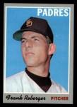 1970 Topps #103  Frank Reberger  Front Thumbnail