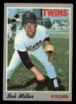 1970 Topps #47  Bob Miller  Front Thumbnail