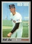 1970 Topps #279  Bill Lee  Front Thumbnail