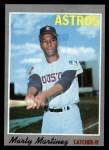 1970 Topps #126  Marty Martinez  Front Thumbnail