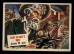 1954 Topps Scoop #37   John Browns Raid  Front Thumbnail